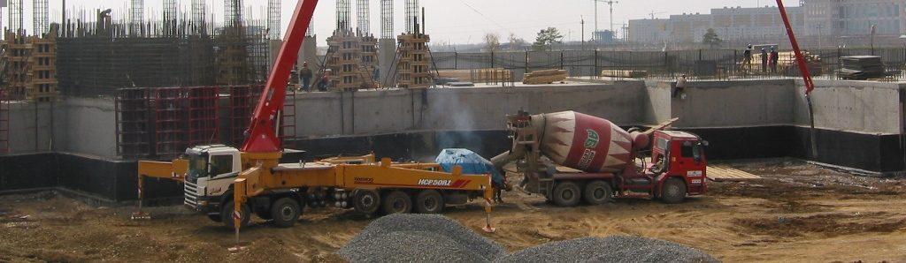 Wysięgnikowe pompy do betonu
