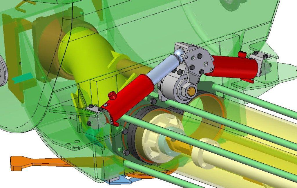 S-valve drive