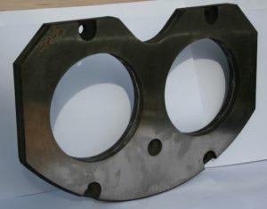 CIFA Wear plates S6 -PB607 - nr cat. 244475