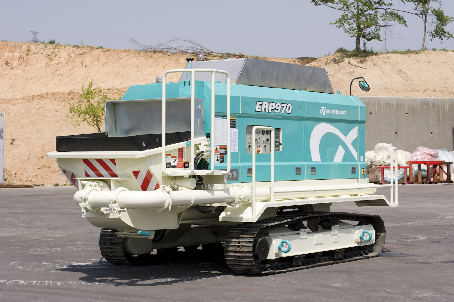 Pompa do betonu Everdigm ETP970 Crawler