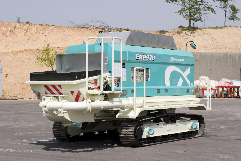 Concrete pump Everdigm ETP 970 Crawler