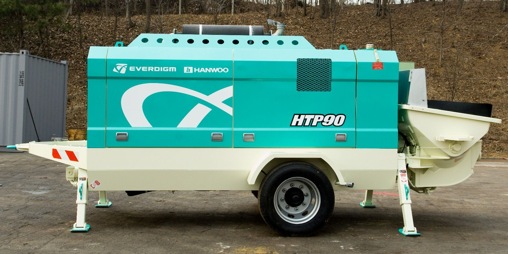 Trailer pump Everdigm ETP 970