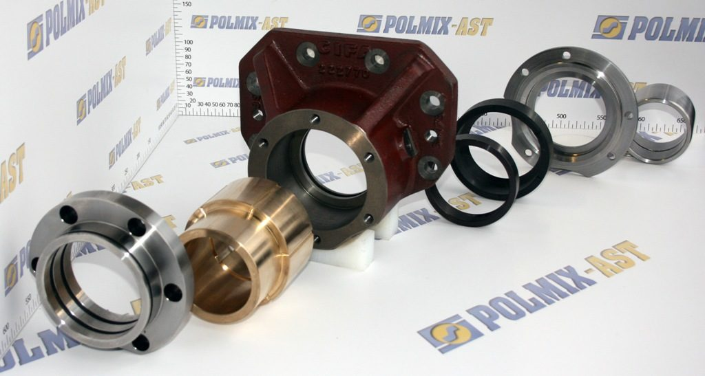 Bearing units for S-valve