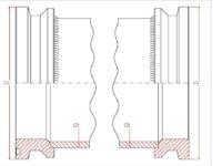 Rurociągi jednopłaszczowe 130 bar DN 150