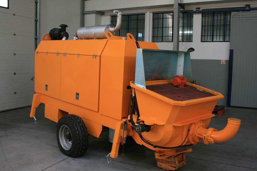 Stationary concrete pump PSCP