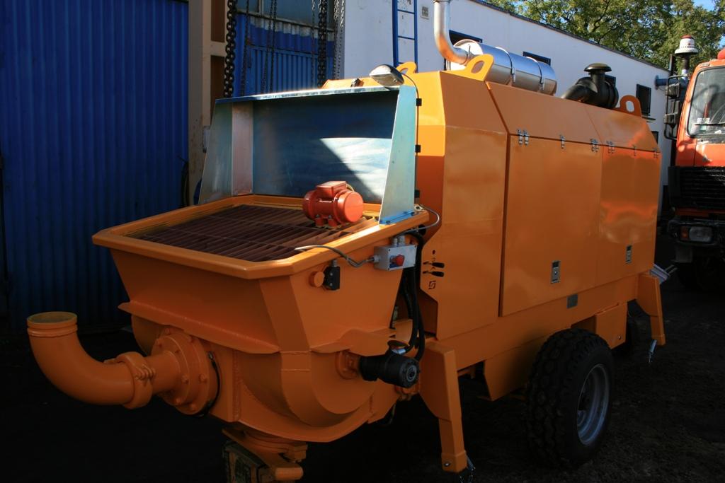 Stationary concrete pump PSCP 02