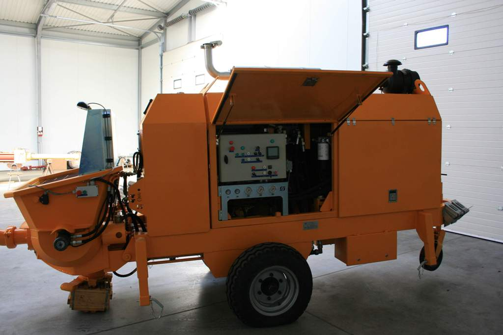 Stationary concrete pump PSCP 03