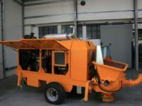 Stationary concrete pump PSCP 04