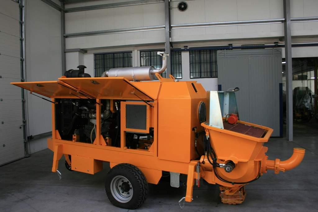 Stationary concrete pump PSCP 04