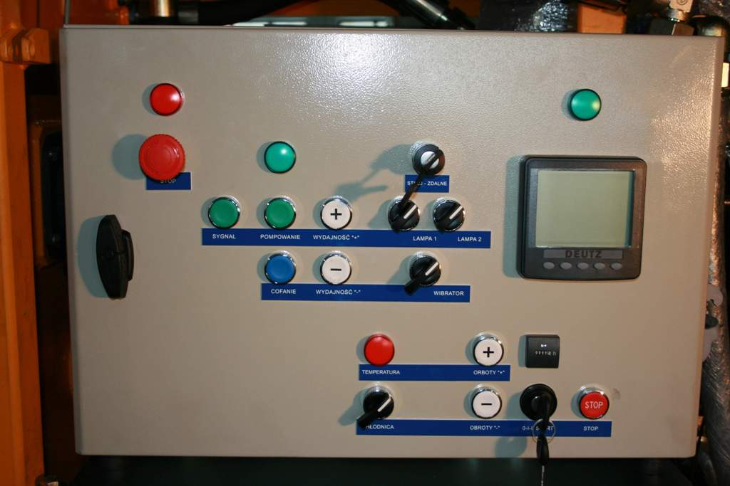 Stationary concrete pump PSCP 07