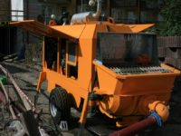 Stationary concrete pump PSCP 09