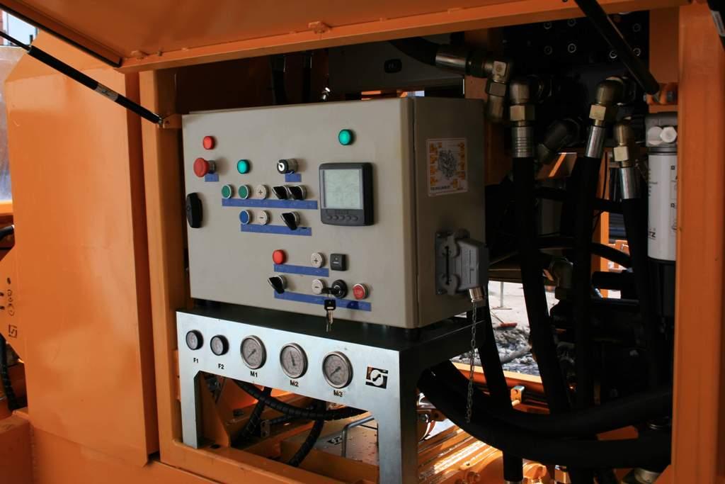 Stationary concrete pump PSCP 08