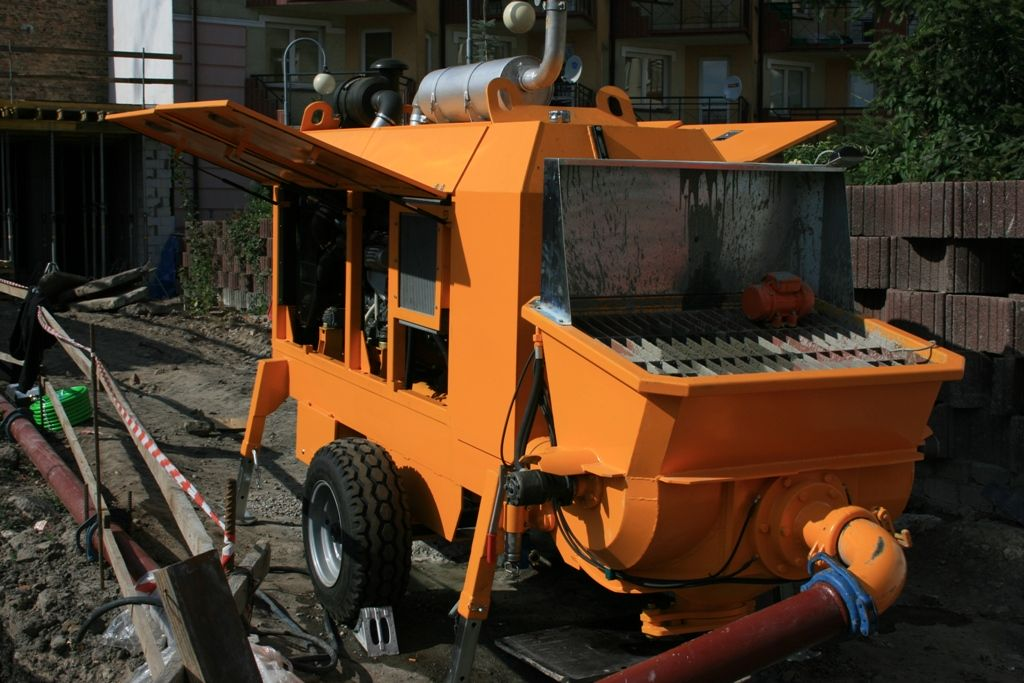 Stationary concrete pump PSCP 09