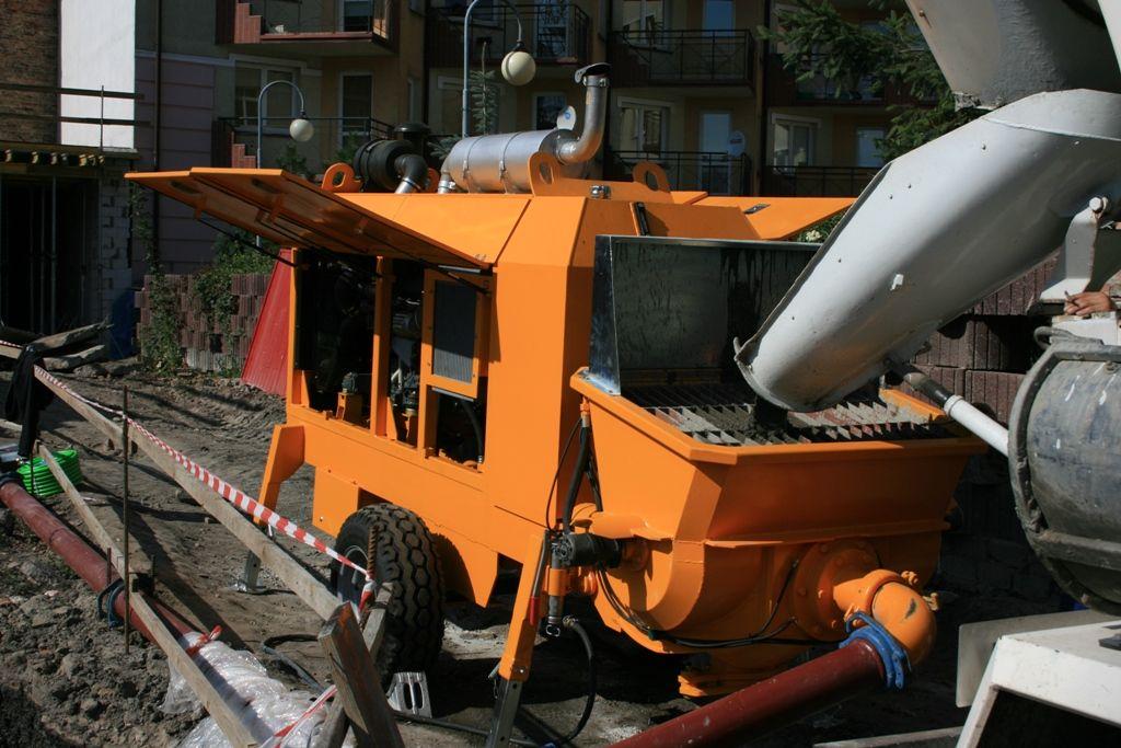 Stationary concrete pump PSCP 10