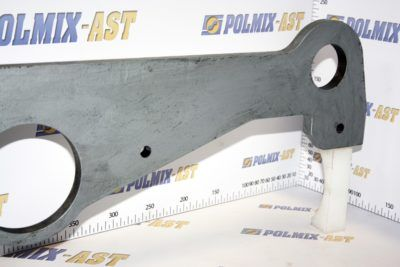 Support brackets for shifting cylinders CIFA 223175