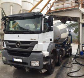 Transport mieszanki betonowej 02