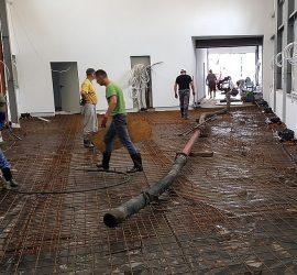 Pompowanie betonu na dużą odległość 01