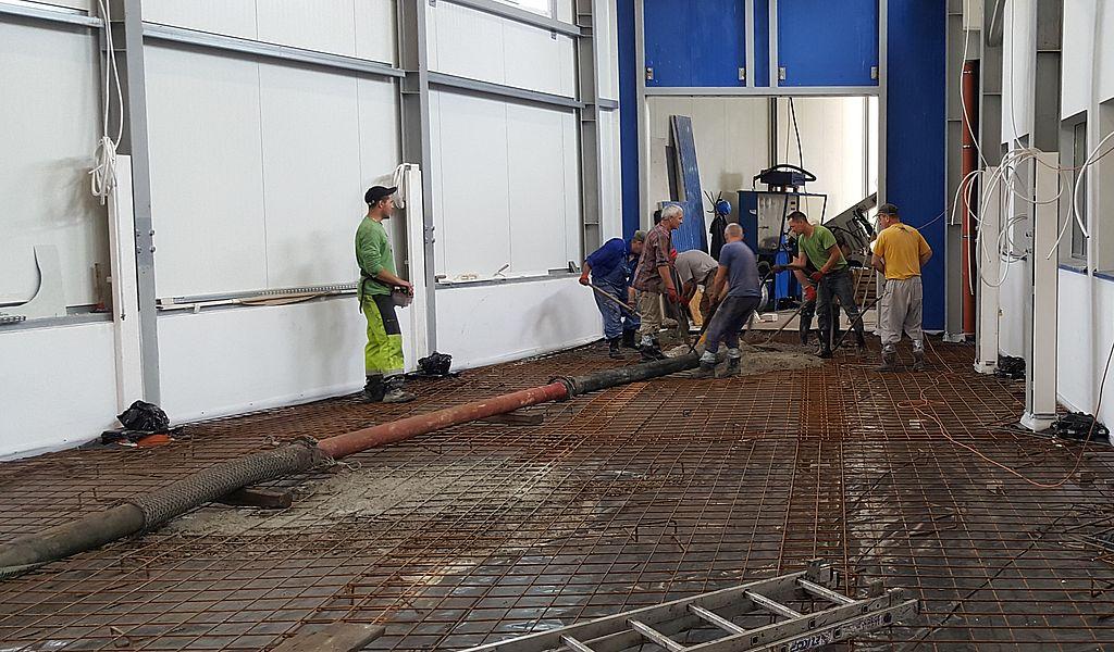 Pompowanie betonu na dużą odległość