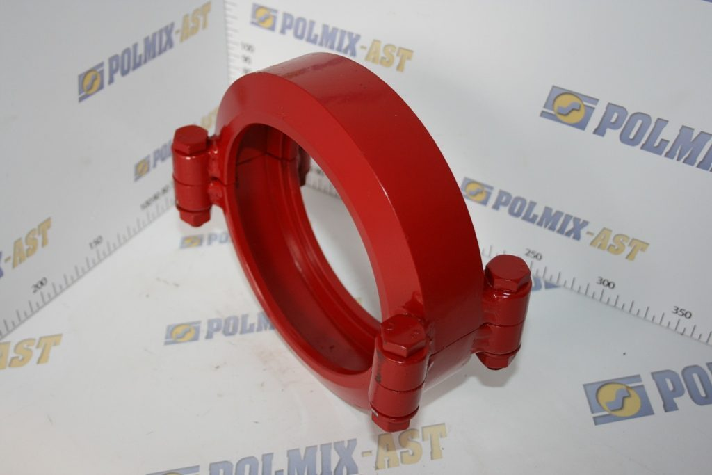 Clamp coupling 85 bar, one-bolt type, type TBC