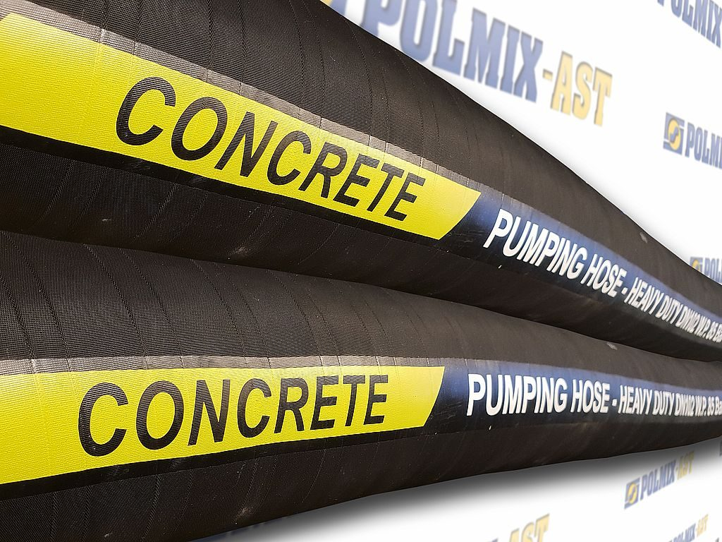 The use of hose for concrete pumping