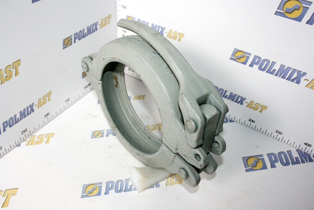 Clamp coupling 85 bar with base plate, type SBC