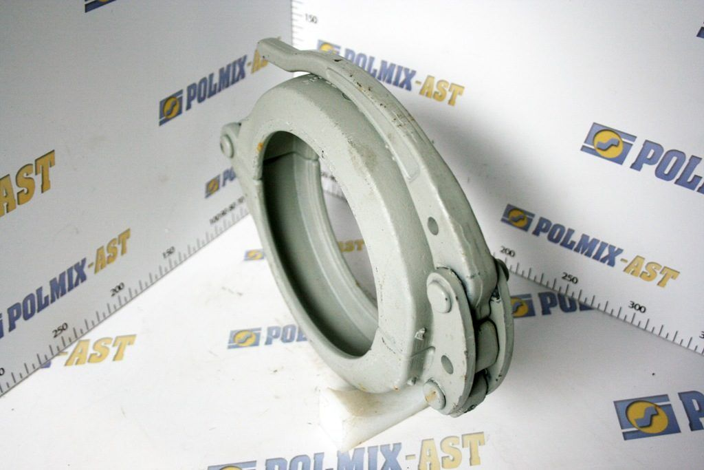 Clamp coupling 85 bar with grip plate, type SBC