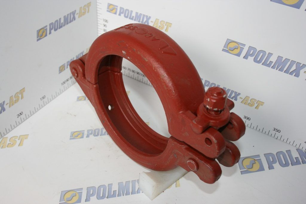 Snap coupling 85 bar with base plate, type SLC