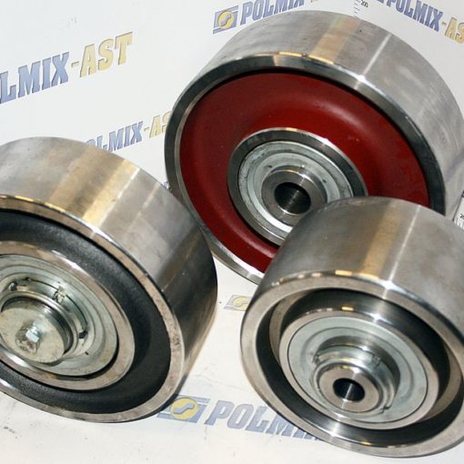 Concrete mixer drum rollers 01
