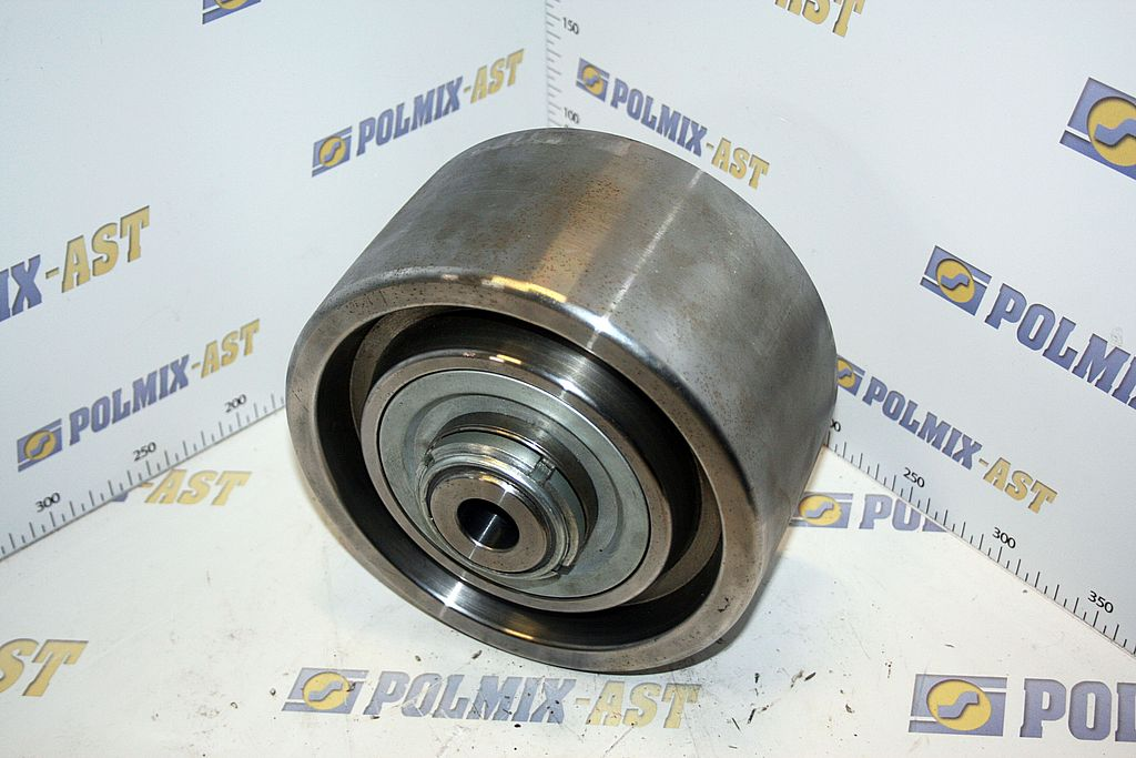 Concrete mixer drum rollers 02
