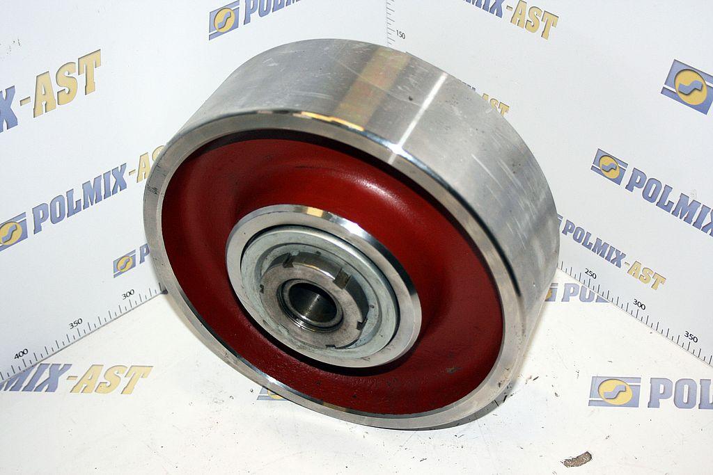 Concrete mixer drum rollers 04