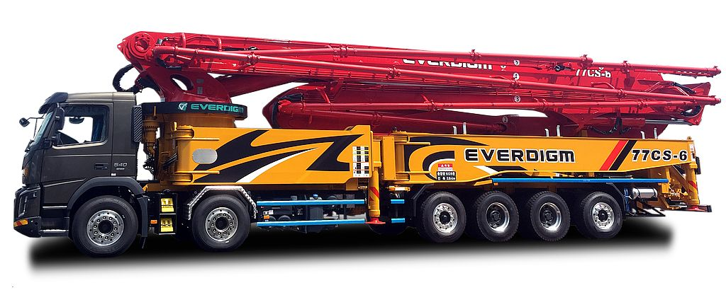 Everdigm Concrete Pumps 01