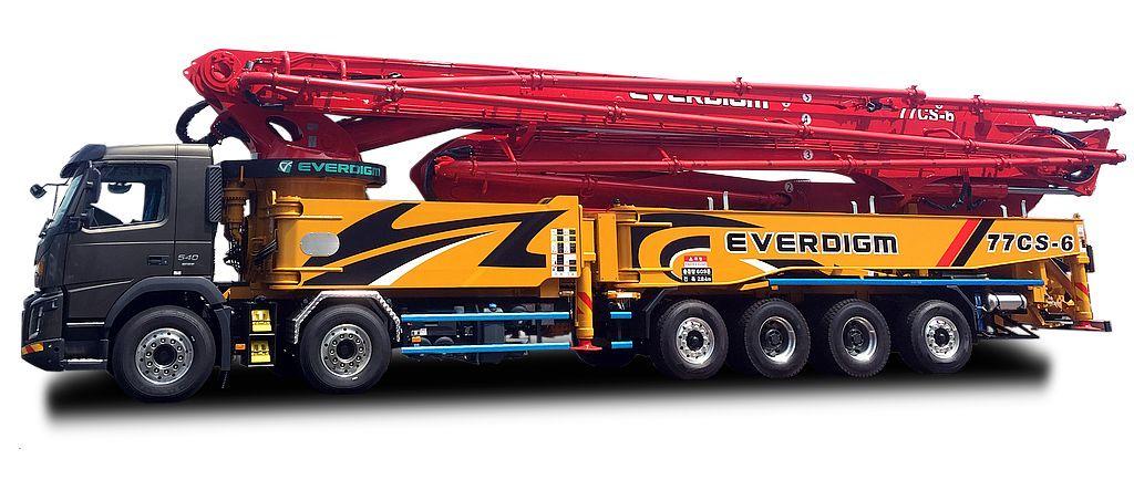 Everdigm Concrete Pumps 01