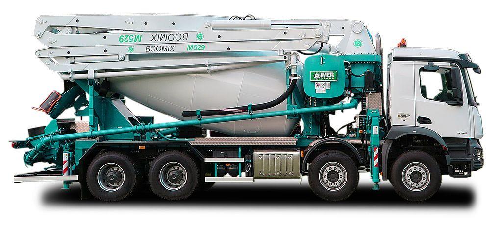 Imer Truck mixer pumps 01